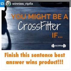 Head over to @winnies_ripfix and add your own!! #Repost @winnies_ripfix with @repostapp.・・・Best answer WINS a tin and samples for their box of choice!!!! Tag a friend Follow and write your answer below!!! Check out this fun article @ifailedfran #GetTheFix #ripfix #WinniesRipFix #1RipRemedy #youknowyouareacrossfitter #CrossFit #CrossFitGames #crossfithands #rippedhands #crossfitfun #fit #bemorehuman #ifailedfran