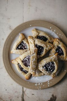cardamom lingonberry hamantaschen l my name is yeh Wontons, Cannoli, Churros, Macaroons, Nachos, Enchiladas, Just Desserts, Delicious Desserts, Sushi