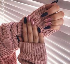 Want some ideas for wedding nail polish designs? This article is a collection of our favorite nail polish designs for your special day. Long Nail Designs, Nail Polish Designs, Nail Art Designs, Nails Design, Black Nails, Pink Nails, Glitter Nails, Black Manicure, Glitter Art