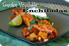Garden Vegetable Enchiladas