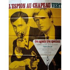man from uncle | Man From UNCLE: The Spy In The Green Hat French poster