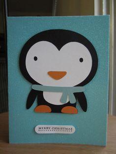 Penguin Christmas Cards Homemade.101 Best Christmas Cards Images Christmas Cards Cards