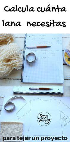 calcular la lana que necesitas para tejer
