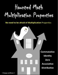 Five multiplication properties covered with a Halloween theme.  Includes interactive worksheet, fun assessment word problems, class activity incorporating candy corn, partner worksheet activity where students cement their learning, and finally all properties and an activity for students interactive notebooks. (Properties Covered: Commutative, Identity, Zero, Associative, and Distributive) Try these out and watch your class Engage and Bloom!