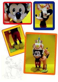 Tutorial Step-by-Step: Mickey & Pluto