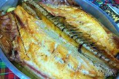 Receita de Peixe assado tradicional em receitas de peixes, veja essa e outras receitas aqui!