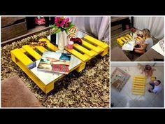 Decoração (Sala) - Mesa de palete - DIY