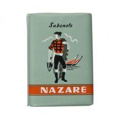Sabonete Nazaré is a portuguese retro inspired soap.