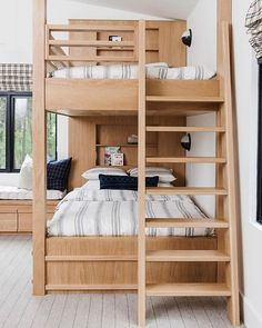 the boo and the boy: bunks and bunk rooms Bed Design, Bedroom Furnishings, Home, Bedroom Design, Loft Bed, Bed, Loft Spaces, Bunk Bed Rooms, Bunk Beds Built In