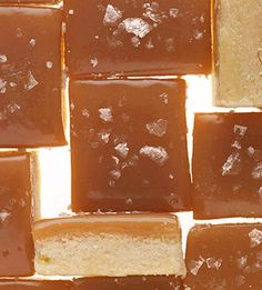 Salted Caramel Bars.. I'd drizzle a little chocolate on these