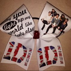 1D LIGHT UP CHEER BOW | bling on the bows custom cheer bows