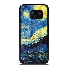 VAN GOGH STARRY NIGHT Samsung Galaxy S7 Edge Case Cover  Vendor: Favocase Type: Samsung Galaxy S7 Edge case Price: 14.90  This luxury VAN GOGH STARRY NIGHT Samsung Galaxy S7 Edge Case Cover is going to generate admirable style to yourSamsung S7 Edge phone. Materials are made from durable hard plastic or silicone rubber cases available in black and white color. Our case makers customize and design every single case in finest resolution printing with good quality sublimation ink that protect… Galaxy S7, Samsung Galaxy, Luxury Van, Black And White Colour, S7 Edge, Phone Covers, Van Gogh, Vans, Silicone Rubber