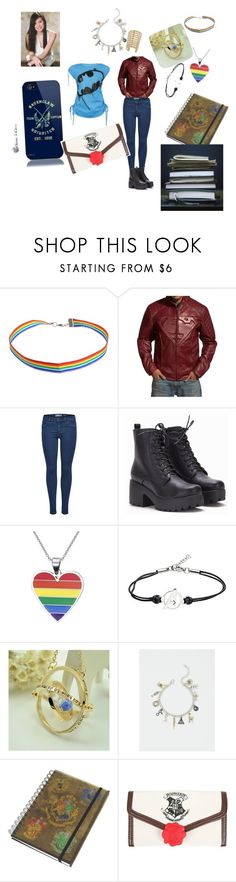 """""""Alicia May before Hogwarts"""" by lillianlovegood ❤ liked on Polyvore featuring Marvel, Torrid and Warner Bros."""