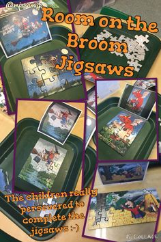 Good for the fine motor skills of handling the pieces but also showed a lot of perseverance and children completed the jigsaws.
