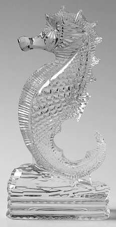 Seahorse - Boxed in the Waterford Crystal Figurine pattern by Waterford Crystal