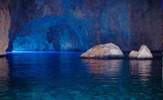 GREECE CHANNEL | #Kastelorizo blue cave http://www.greece-channel.com/