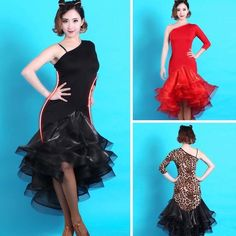 Adult Women's Latin Tango Cha Cha Rumba Samba Cowboy Dance Ballroom Dance Dress in Clothing, Shoes & Accessories, Dancewear, Adult Dancewear | eBay