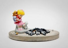 Contemporary ceramics by Barnaby Barford