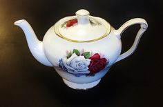Queen Anne Duet vintage English bone china by darcyelizavintage