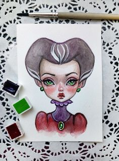 These cute Disney villains are available in my Etsy store https://www.etsy.com/shop/BlackFuryArt