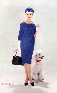 Vogue February 1959 - Isabella Albonico