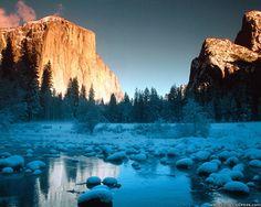 El Capitan, Merced River, Yosemite National Park, California
