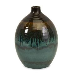 IMAX Small Aegean Vase - 81032. IMAX Small Aegean Vase - 81032 The small Aegean vase has a versatile style. Pair with Mediterranean or southwestern dcor. Fill with decorative grasses to add height. Product Specifications Dimensions 6.5 D x 9.25 H (inches.. . See More Vases at http://www.ourgreatshop.com/Vases-C733.aspx