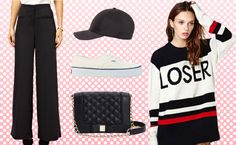 Look For Less: Rihanna's Sporty Stripes