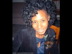 How to Do a Bantu Knot Out (Technique on Natural Hair)