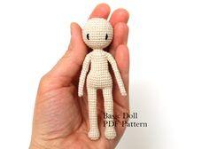 In vendita - Pattern di base bambola di PinkMouseBoutique