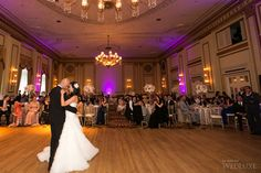 The Pacific Ballroom at The Fairmont Hotel Vancouver | Photography by: Sweet Pea Photography