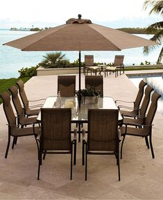 Garden Oasis Harrison  Piece Dining Set Serenity Care Health - Macy outdoor furniture