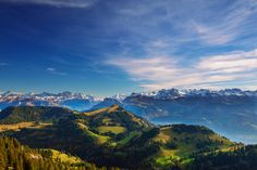 The Alps view