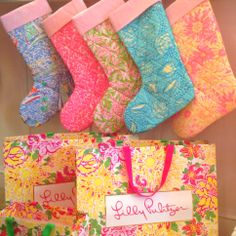 Lilly Pulitzer Stockings