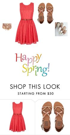 """""""Happy Spring"""" by urqveen123 ❤ liked on Polyvore featuring beauty, Yumi, Billabong and Accessorize"""