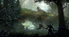 Forest from Darksiders II