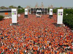 Kings Day, Amsterdam 26 April 2014