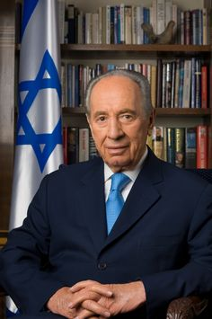 Shimon Peres is the president of Israel. Description from pinterest.com. I searched for this on bing.com/images