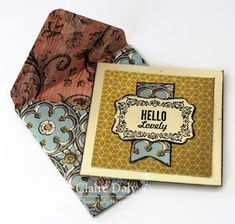 Stampin' Up! Envelope Punch Board projects. Claire Daly Melbourne Australia.
