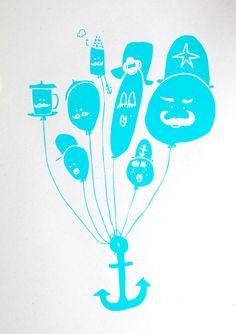 Poster balloons - Marloes Kroeze -