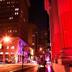 Federal Style Taken in the San Francisco financial district. San Francisco At Night, Times Square, City, Pictures, Travel, Style, Federal, Photos, Swag