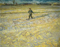 Vincent van Gogh - The Sower, 1888 at Villa Flora Winterthur Switzerland