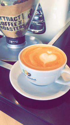 Valentines special latte art