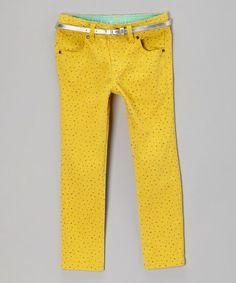Look at this #zulilyfind! Sulfur Wish Upon a Star Straight-Leg Jeans - Toddler & Girls #zulilyfinds