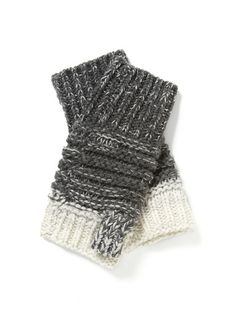 Gradient Cashmere Blend Fingerless Mitten by Line + Lotte at Gilt