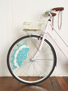 Crochet Skirt Bike Guard http://www.freepeople.com/whats-new/crochet-skirt-bike-guard/