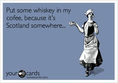 I don't like whiskey but this really made me laugh!
