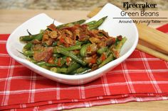Firecracker Green Beans....copycat of Famous Dave's BBQs beans....These are amazing!!!!