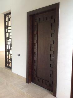 - August 11 2019 at Wooden Door Design, Front Door Design, Custom Wood Doors, Wooden Doors, Interior Barn Doors, Interior Exterior, Hanging Barn Doors, Modern Front Door, Entrance Doors
