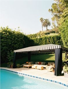 cabana. we need to do this by the pool next year!